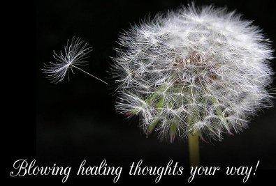 blowing healing